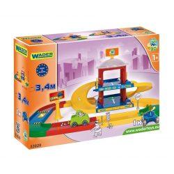 Kid Cars 3D 2 emeletes parkológarázs 3,4m pályahossz - Wader
