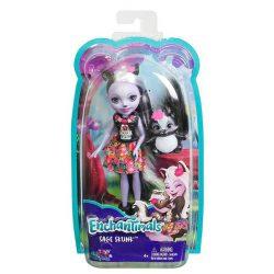 Enchantimals: Sage Skunk baba állatkával - Mattel