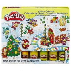 Play Doh adventi naptár