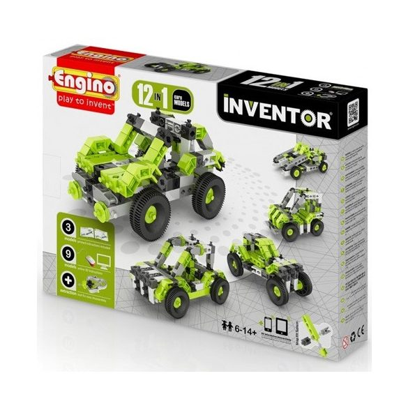 Engino - INVENTOR 12 IN 1 Autó