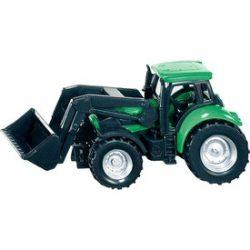 SIKU Deutz-Fahr markolós traktor 1:72