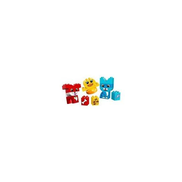 10858 - LEGO DUPLO Kezdőkészletek Első házikedvencek kirakóm