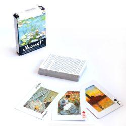 Piatnik: Monet festményei 1*55 lapos Exkluív römi
