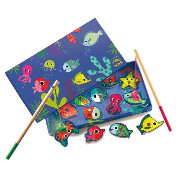 Mágneses horgászó-színes halak