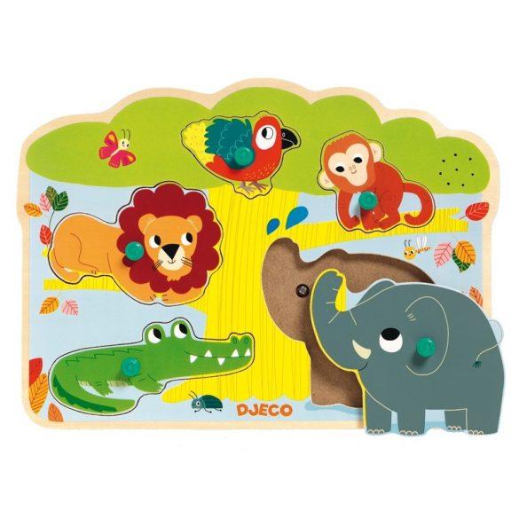 Hangot adó puzzle-Baobab