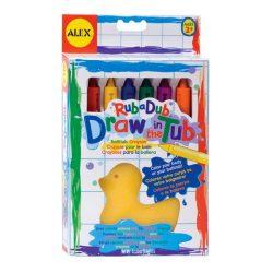 Alex szappankréta 6 szín+ szivacs