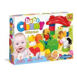 Clemmy Baby puha építőjáték