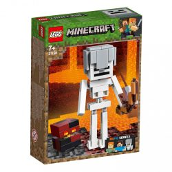LEGO Minecraft BigFig Csontváz magmával