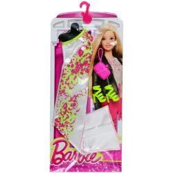 Barbie ruha kiegészítővel fehér táskával