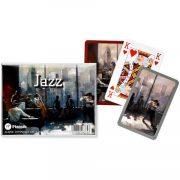 Művészi römikártya - Jazz 2*55 lapos - Piatnik