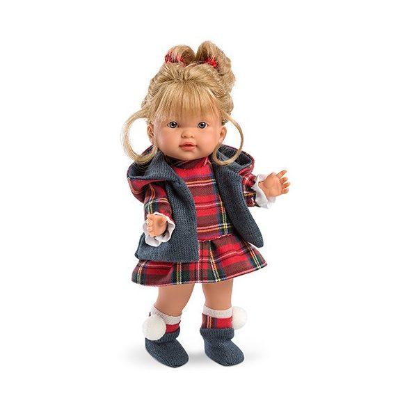 Európai baba kötött ruhában 28cm