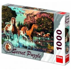 Lovak 1000 darabos titkos puzzle 532649