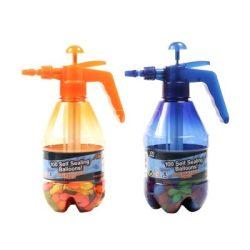 Vízibomba lufik töltő tartállyal - 1200 ml, többféle