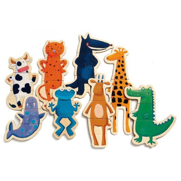 Magnetic-vicces állatok
