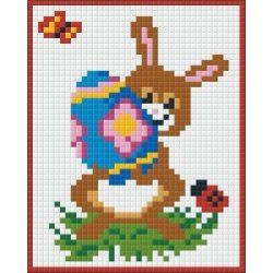 Pixel készlet húsvéti szett nyúl/ ló