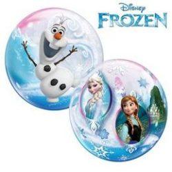22 inch-es Disney Frozen - Jégvarázs Bubble Lufi