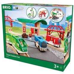 Utasszállító szett busz állomással 33627 Brio