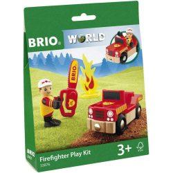 Tűzoltó játszószett Brio