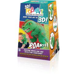 Pop Art Full 3 D - Dinosaurier T Rex