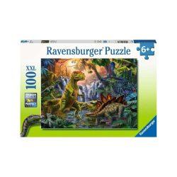 Puzzle 100 db - Dínó oázis Ravensburger