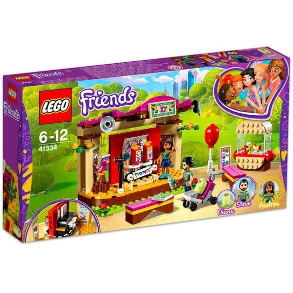 Lego Friends-Andrea előadása a parkban