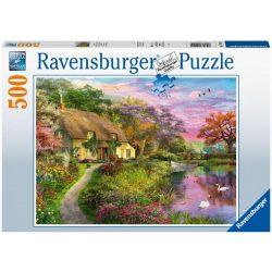 Puzzle 500 db - Vidéki házikó 15041