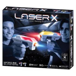 Laser-X Dupla csomag mikro pisztoly