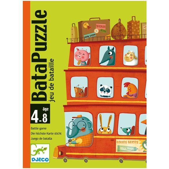 Kártyajáték - Bata puzzle - képkirakó