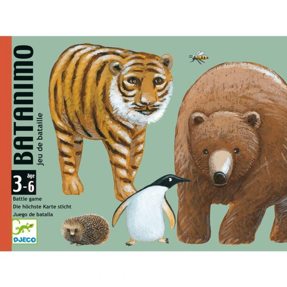 Kártyajáték - Batanimo - kisebb-nagyobb