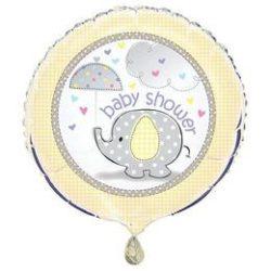 """Baby Shower 18""""-es fólia lufi"""