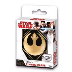 5411068017391 Cartamundi Star Wars- Az utolsó jedik  Díszdobozos kártyaszett