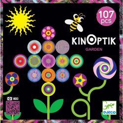 Optikai puzzle - Kert - Kinoptik Garden - 107 db-os Djeco