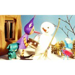Diafilm Mazsola és a hóember