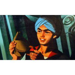 Diafilm Aladdin és a csodalámpa - ANGOL