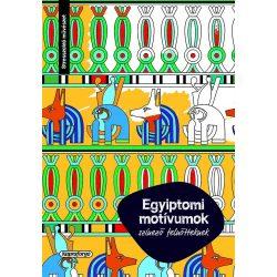 Színező felnőtteknek - Egyiptomi motívumok  - Napraforgó