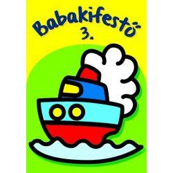 Babakifestő 3.  Napraforgó