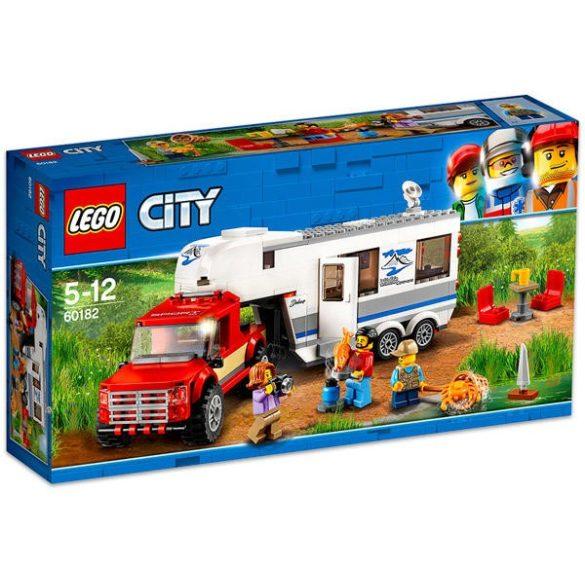 Lego city-Furgon és lakókocsi