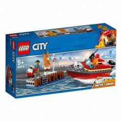 60213 - LEGO City Tűz a dokknál