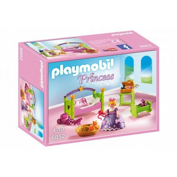 Playmobil- A királylány babaszobája