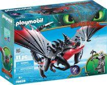 Playmobil Deathgripper és Grimmel - Dragons