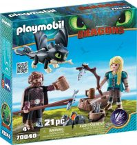 Playmobil Hablaty és Asztrid játékszett
