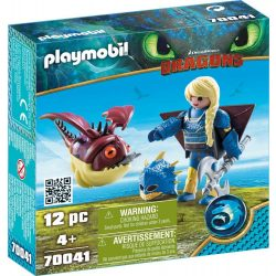 Playmobil Asztrid és Hobgobbler - Dragons   Így neveled a sárkányod