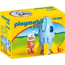 Playmobil Űrhajós rakétával
