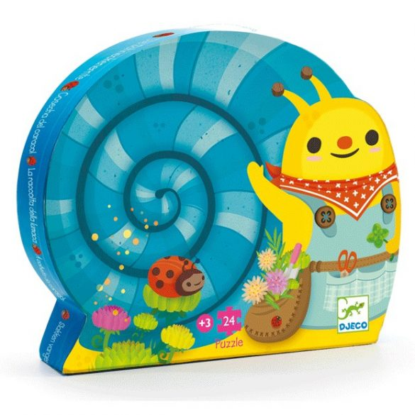 Snail goes plant picking -24p