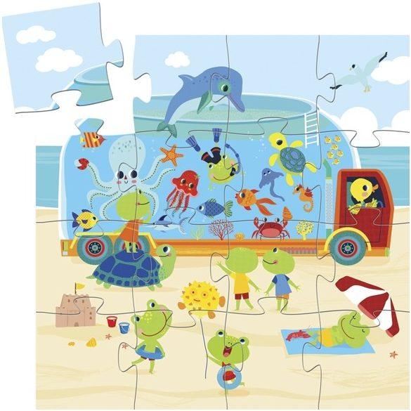 Mini puzzle - Az akvárium - The aquarium