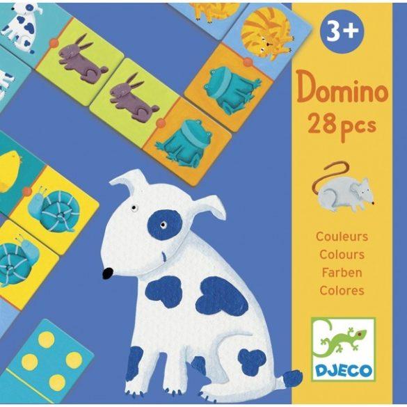 Színes állatok-Domino
