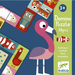 Kétfeles Domino - Animo-puzzle