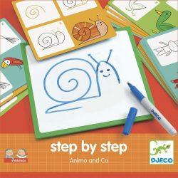 Rajzolás lépésről lépésre - Állatok - Step by step Animals and Co