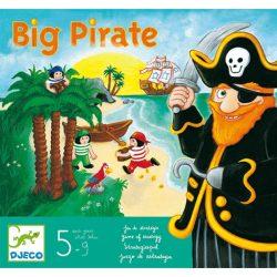 Társasjáték - Big pirate - Nagy kalóz