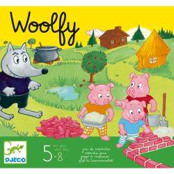 Társasjáték - Woolfy - A három kismalac